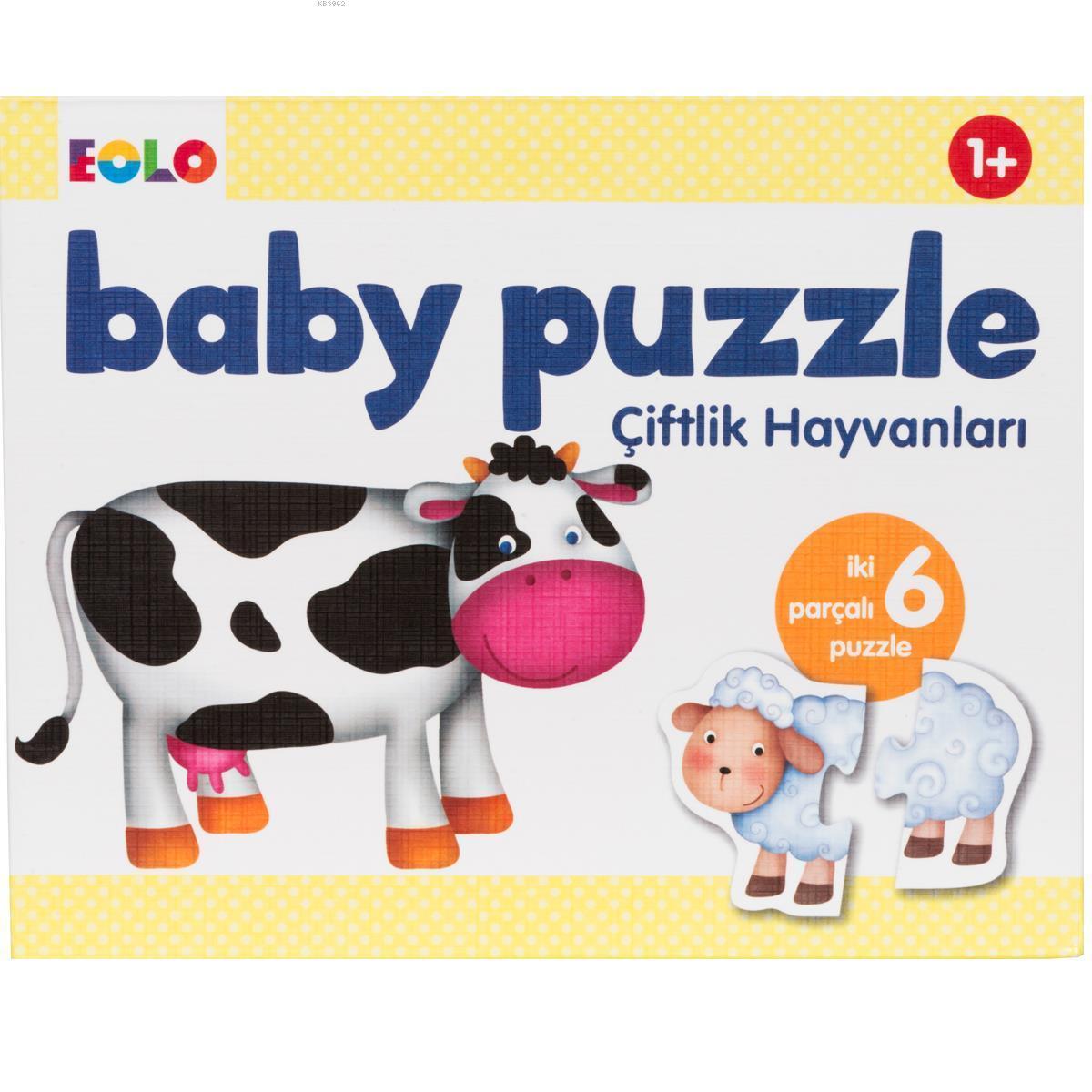 Eolo Baby Puzzle Çiflik Hayvanlari