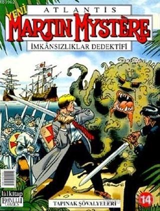 Atlantis Sayı: 14 İmkansızlıklar Dedektifi Tapınak Şövalyeleri