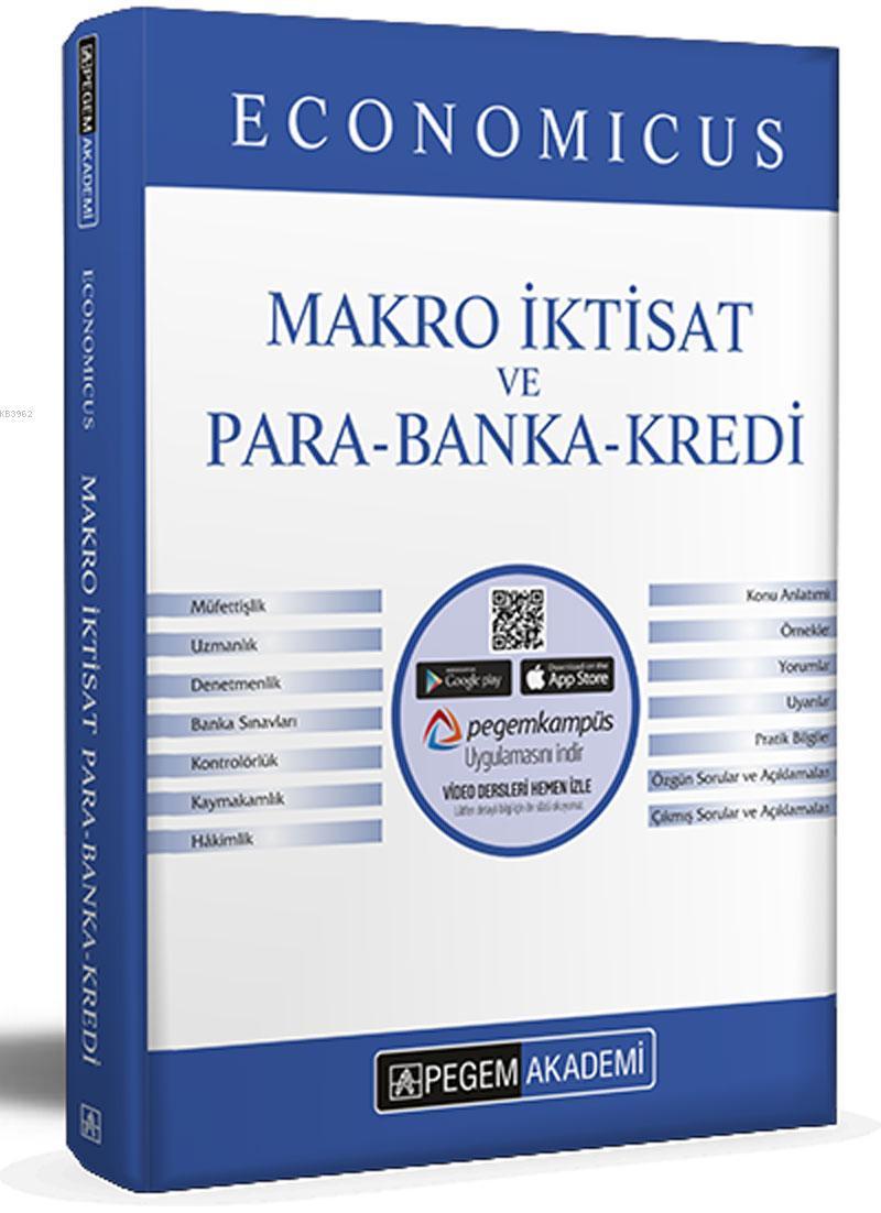 2021 KPSS A Grubu Economicus Makro İktisat ve Para-Banka-Kredi Konu Anlatımı