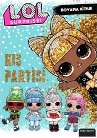 Lol Surprise Kış Partisi Boyama Kitabı