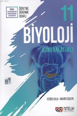Nitelik Yayınları 11. Sınıf Biyoloji Konu Anlatımlı Nitelik