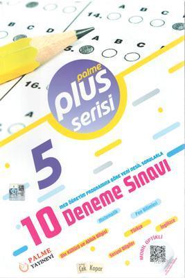 Palme Yayınları 5. Sınıf Plus Serisi 10 Deneme Sınavı Palme