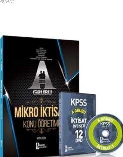 2018 KPSS A Grubu mikro İktisat Konu Anlatımlı DVD Seti