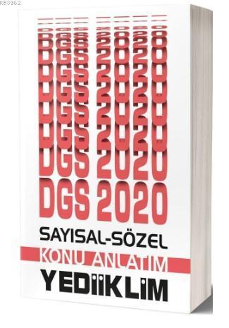 Yediiklim Dgs Say-Söz Konu Anlatimi 2020