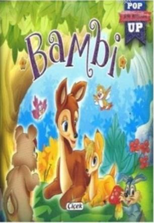 Mini Pop Up Dizisi Bambi Ciltli