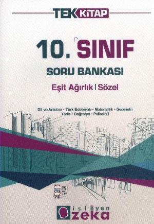 10. Sınıf Soru Bankası Eşit Ağırlık Sözel