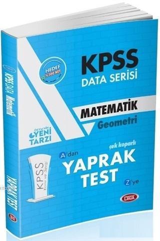 KPSS Data Serisi Matematik Geometri Çek Koparlı Yaprak Test