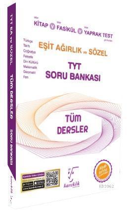 TYT Tüm Dersler Eşit Ağırlık ve Sözel Soru Bankası