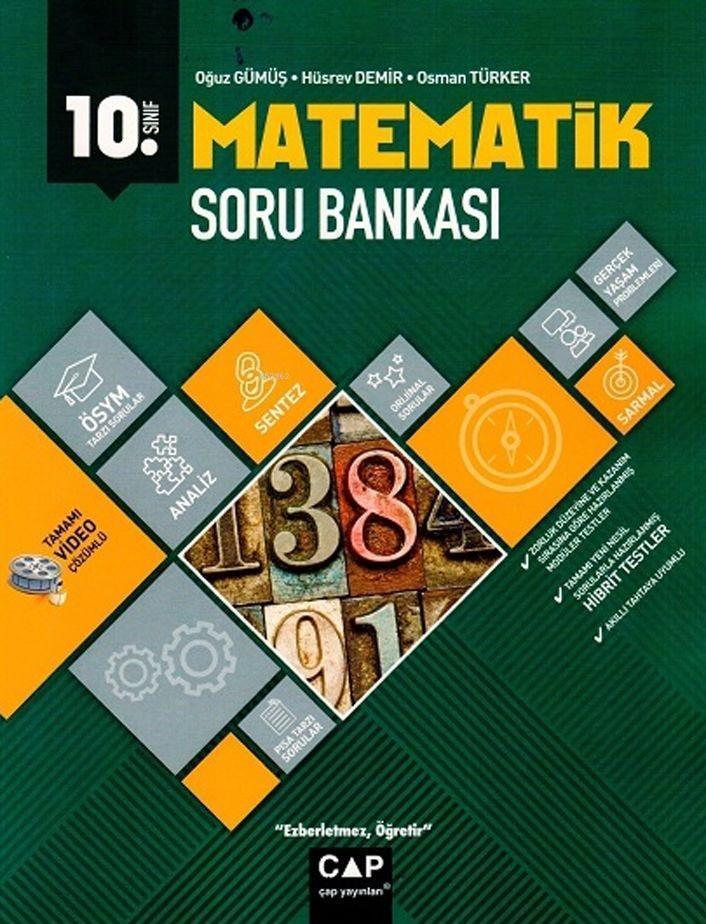 Çap Yayınları 10. Sınıf Anadolu Lisesi Matematik Soru Bankası Çap