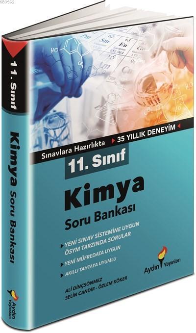 Aydın Yayınları 11. Sınıf Kimya Soru Bankası Aydın
