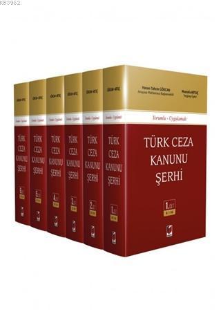 Türk Ceza Kanunu Şerhi (6 Cilt Takım) - (Ciltli)