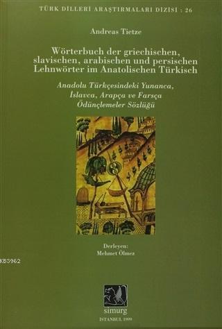 Wörterbuch Der Grıechıschen Slavıscphen Arabıschen