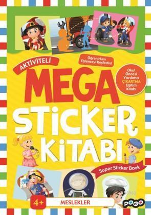Aktiviteli Mega Sticker Kitabı; Meslekler