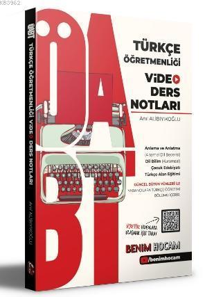 2021 ÖABT Türkçe Öğretmenliği Video Ders Notları