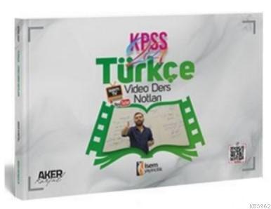 İsem 2021 Evveliyat KPSS Genel Yetenek Türkçe Video Ders Notları