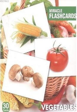 Miracle FlashCards| Vegetables; 30 Cards