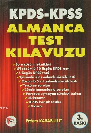 KPDS KPSS Almanca Test Kılavuzu