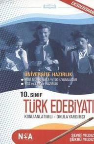 10. Sınıf Türk Edebiyatı; Konu Anlatımlı Cep Kitabı