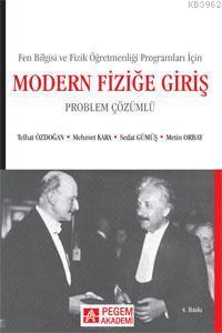Modern Fiziğe Giriş (Problem Çözümlü)