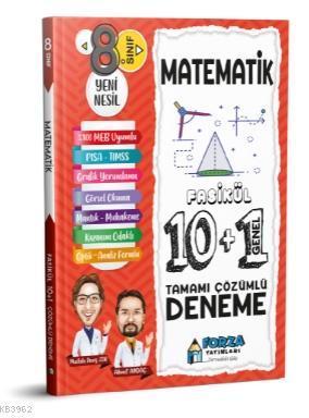 8. Sınıf LGS Matematik Tamamı Çözümlü Fasikül 10 Branş 1 Genel Deneme