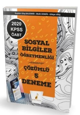 2020 KPSS ÖABT Sosyal Bilgiler Öğretmenliği Dijital Çözümlü 5 Deneme Sınavı