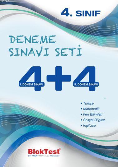 4. Sınıf Deneme Sınavı Seti 4+4
