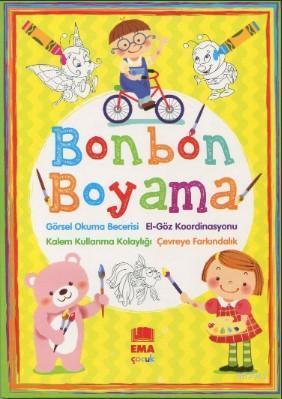 Bonbon Boyama (Renkli Örnekli)