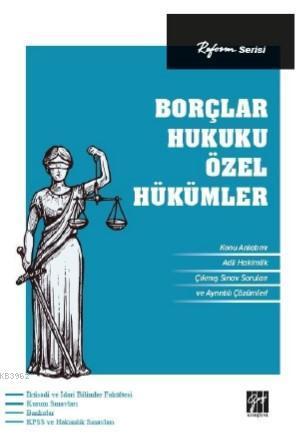 Reform Serisi Borçlar Hukuku Özel Hükümler