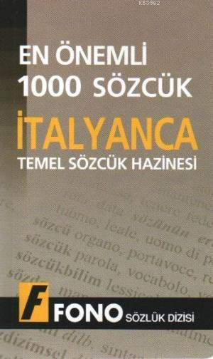 İtalyancada En Önemli 1000 Sözcük