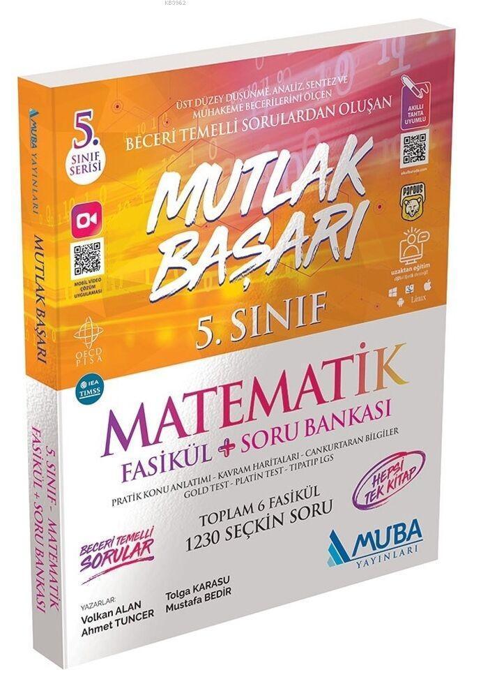 Muba Yayınları 5. Sınıf Matematik Fasikül ve Soru Bankası Muba
