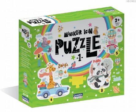 Minikler İçin Puzzle - 1 (Kutulu)