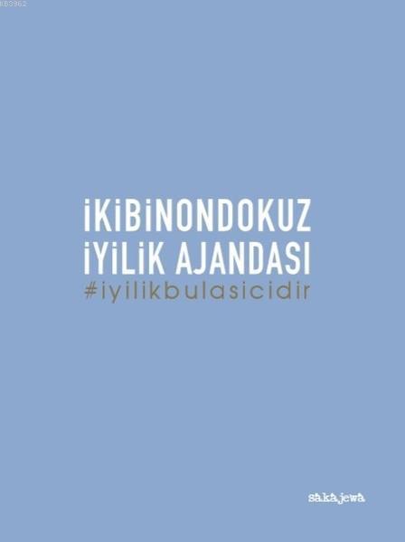 Ayşe Arman 2019 İyilik Ajandası - Orta Boy - Mavi