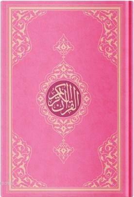 Orta Boy Resm-i Osmani Kur'an-ı Kerim (Özel, Pembe Kapak, Mühürlü, Kod:KR0042)