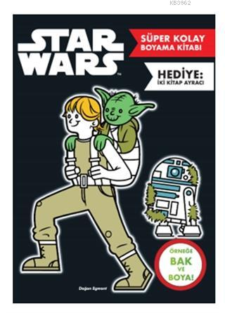 Star Wars - Süper Kolay Boyama Kitabı
