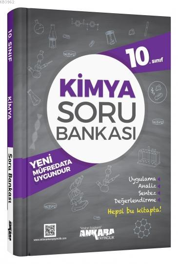 Ankara Yayınları 10. Sınıf Kimya Soru Bankası Ankara