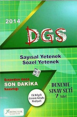 DGS Son Dakika 7 Deneme Seti