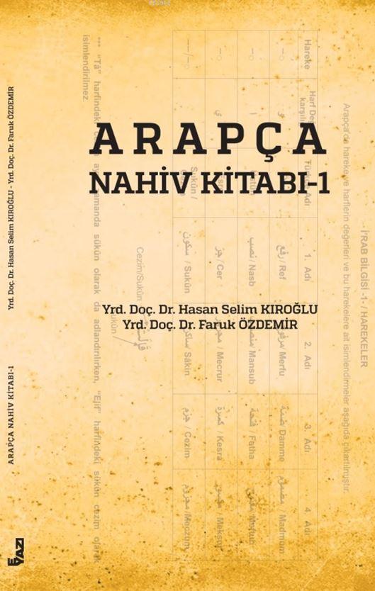 Arapça Nahiv Kitabı 1
