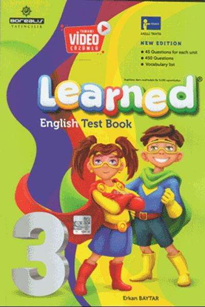 Learned English Test Book 3