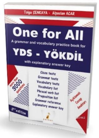 One For All A Grammar and Vocabulary Practice Book For YDS