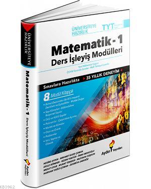 Aydın Yayınları TYT Matematik 1 Ders İşleyiş Modülleri Aydın