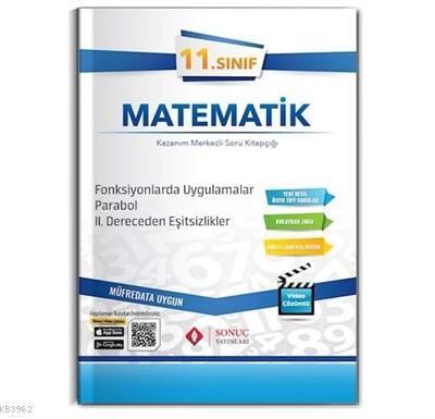 11. Sınıf Matematik Kazanım Merkezli Soru Kitapçığı Fonksiyonlarda Uygulamalar, Parabol, 2. Dereceden Eşitsizlikler