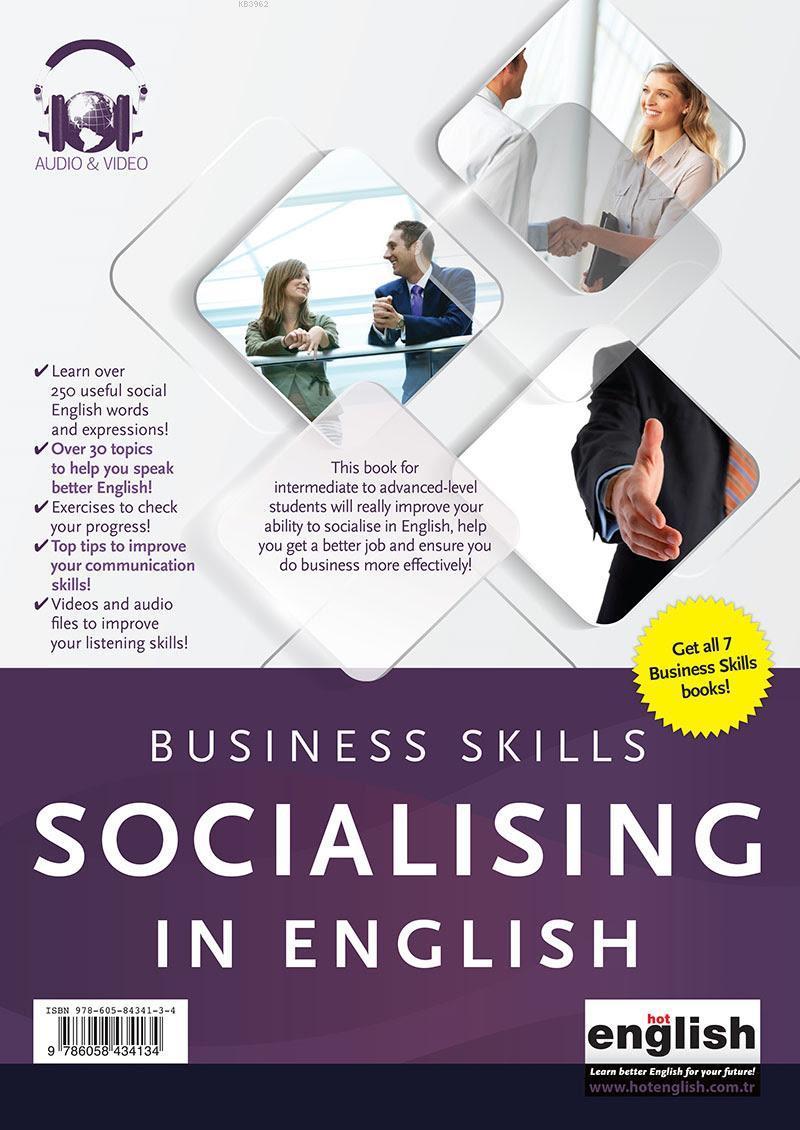 Business Skills - Socializing - İş Hayatında Sosyalleşme