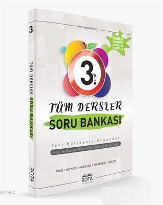 Rota Yayınları 3. Sınıf Tüm Dersler Soru Bankası RTY Rota