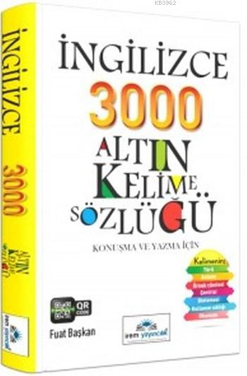 İngilizce 3000 Altın Kelime Sözlüğü