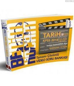 2018 KPSS Tarih Video Çözümlü Soru Bankası