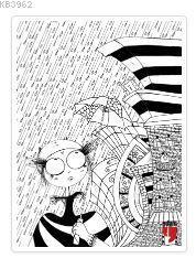 Muzi Tablo Boyama Serisi 1 Yağmur