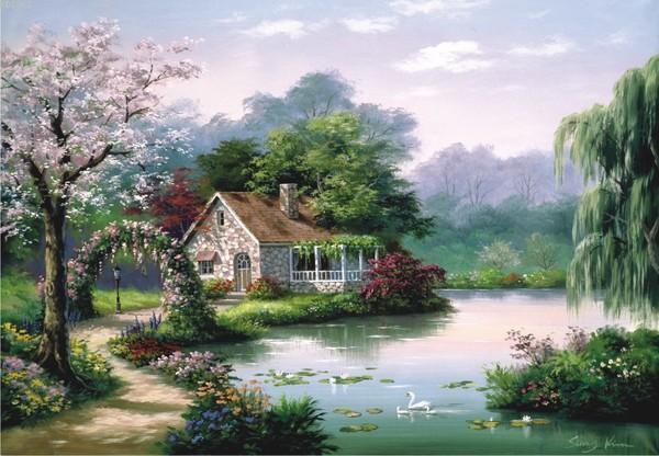 Anatolian Puzzle Küçük Bahçe Köşkü / Arbor Cottage 260 Parça 3304