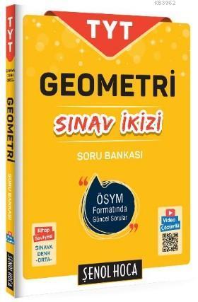 Şenol Hoca Yayınları TYT Geometri Sınav İkizi Soru Bankası