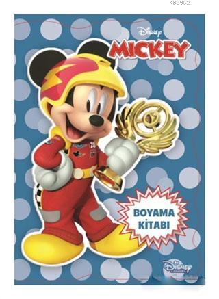 Disney Mickey ve Çılgın Yarışçılar Boyama Kitabı