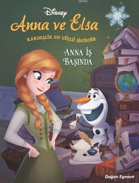 Anna İş Başında - Disney Karlar Ülkesi Anna ve Elsa